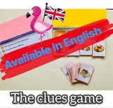 The clues game - ENGLISH
