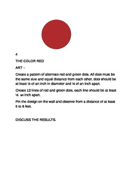 The colour red 1