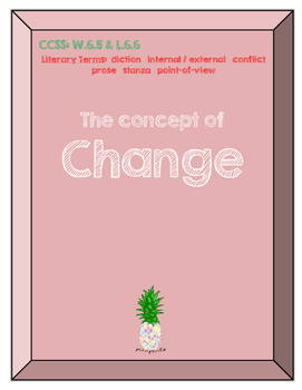 The concept of change - Before introducing Personal Narratives