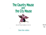 The country mouse and the city mouse storybook