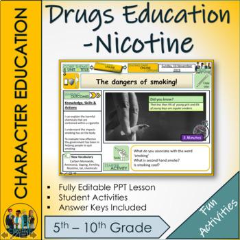 The dangers of Smoking and nicotine use