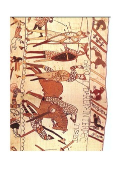 The death of King Harold 14th October 1066 Activity