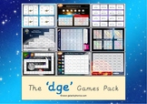 The -dge Phonics Games Pack