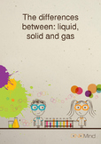 Science Properties: States of Matter - Solid, Liquid and Gas