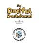 The dutiful dachshund
