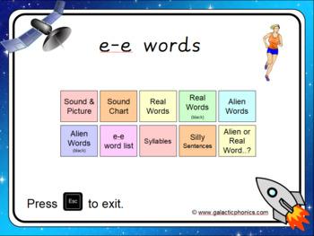 The e-e (split digraph) PowerPoint
