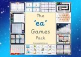 The 'ea' Phonics Games Pack