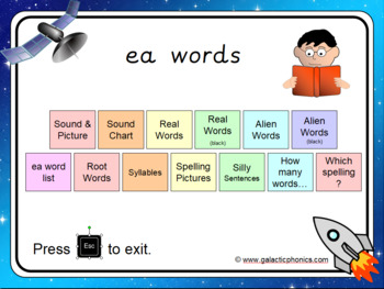 The 'ea' PowerPoint