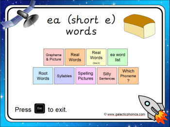 The 'ea' (bread) PowerPoint