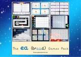 The 'ea' (short e) Phonics Games Pack