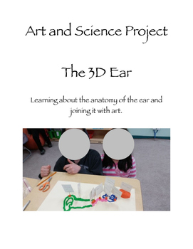 The ear. Art and science integration lesson