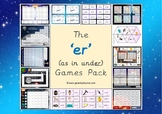 The 'er' (as in under) Phonics Games Pack