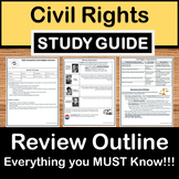 Civil Rights Review - US History Study Guide - STAAR Test