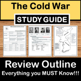 Cold War Review - US History Study Guide - STAAR Test Prep EOC