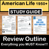 Post WWII 1950-1970s Review -US History Study Guide-Test Prep