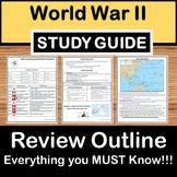 World War II Review -US History Study Guide - STAAR Test Prep EOC