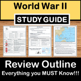 World War II Review -US History Study Guide - STAAR Test Prep EOC
