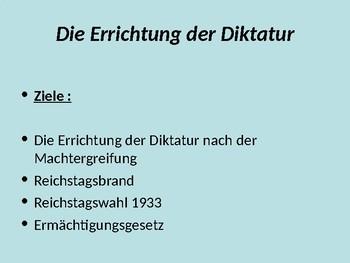 The establishment of Hitler's dictatorship / Enabling Act