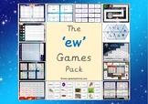 The 'ew' Phonics Games Pack