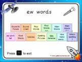 The 'ew' Phonics PowerPoint