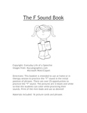 """The """"f"""" Sound Book"""