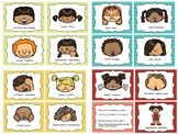 The faces of Emotion- printable cards for teaching emotions (Dual Language)