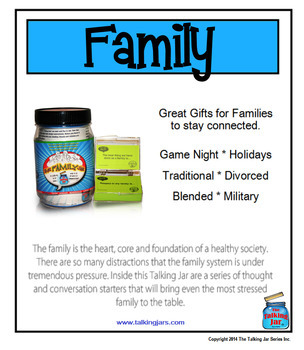 The family is the heart, core and foundation of a healthy society.