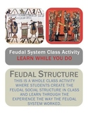 The feudal Social Structure in Medieval Society - whole class activity