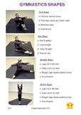 The shapes of gymnastics