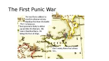 The first Punic War presentation