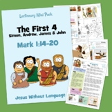 The first four disciples - Kidmin Lesson & Bible Crafts