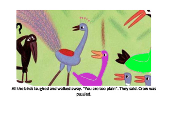 The foolish crow