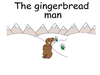 The gingerbread man recall, writing prompts