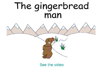 The gingerbread man storybook