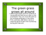 The green grass grows all around Rhyme/Song Tree Unit *FREE*