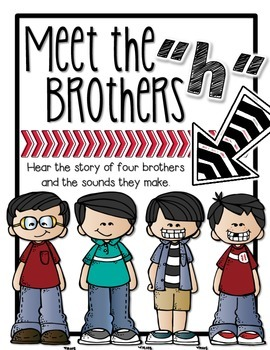The 'h' Brothers: Digraphs ch, wh, th, and sh