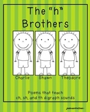 """The """"h"""" Brothers Poetry Pack"""