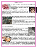 The history of the doughnut -Reading Comprehension and Voc