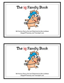 The ig Family Book Guided Reader