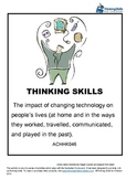 The impact of changing technology on people's lives ACHHK046