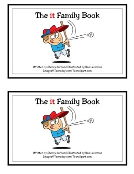 The it Family Book Guided Reader