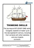 Explorers: The journeys of world navigators, explorers or traders ACHHK078