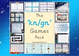 The 'kn' and 'gn' Phonics Games Pack