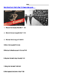 The lead up to WW2: Kristallnacht and Mein Kampf