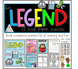 The legend of rock paper scissors book companion & games.