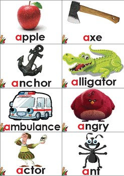 The letter Aa, phonics and writing pack NO PREP (Know your ABC's series part 1)