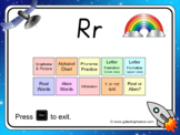 The letter 'r' PowerPoint
