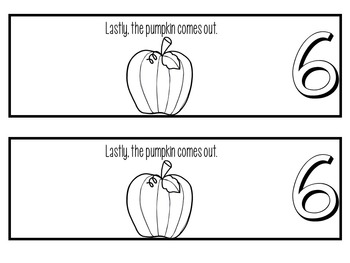 The life cycle of a pumpkin FLIP BOOK