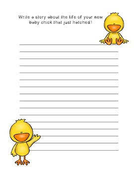 The life of my new baby chick ~Creative Writing