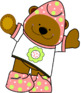 The little bears: clip art-  Les p'tits ours: ensemble de clip arts